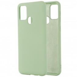 """Shell"" kieto silikono (TPU) dėklas - žalias (Galaxy A21s)"
