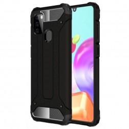 Sustiprintos apsaugos dėklas - juodas (Galaxy A21s)