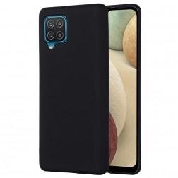 """""""Shell"""" kieto silikono (TPU) dėklas - juodas (Galaxy A22 4G)"""