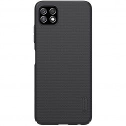 """Nillkin"" Frosted Shield dėklas - juodas (Galaxy A22 5G)"