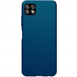 """Nillkin"" Frosted Shield dėklas - mėlynas (Galaxy A22 5G)"