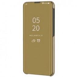 Plastikinis atverčiamas dėklas - auksinis (Galaxy A22 5G)