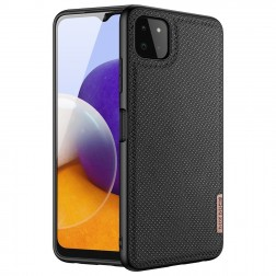 """Dux Ducis"" Fino dėklas - juodas (Galaxy A22 5G)"