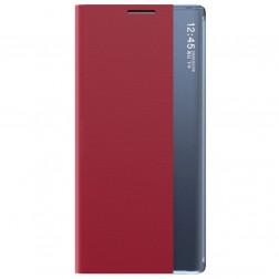 """""""View Line"""" atverčiamas dėklas - raudonas (Galaxy A22 5G)"""
