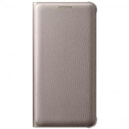 """""""Samsung"""" Flip Wallet Cover atverčiamas dėklas - auksinis (Galaxy A3 2016)"""