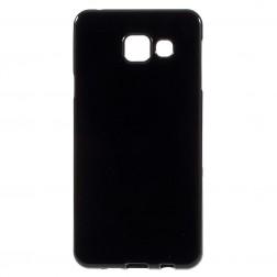 Kieto silikono (TPU) dėklas - juodas (Galaxy A3 2016)