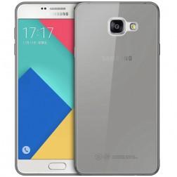 Ploniausias TPU skaidrus dėklas - pilkas (Galaxy A3 2016)