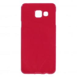 Kieto silikono (TPU) dėklas - raudonas (Galaxy A3 2016)