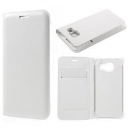 """""""Smart Wallet"""" atverčiamas dėklas - baltas (Galaxy A3 2016)"""