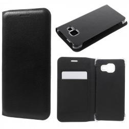 """""""Smart Wallet"""" atverčiamas dėklas - juodas (Galaxy A3 2016)"""