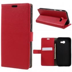 Atverčiamas dėklas - raudonas (Galaxy A3 2017)