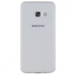 Ploniausias TPU skaidrus dėklas - pilkas (Galaxy A3 2017)
