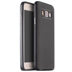 """""""IPAKY"""" kieto silikono (TPU) dėklas - juodas / pilkas (Galaxy A3)"""
