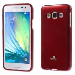 """""""Mercury"""" dėklas - raudonas (Galaxy A3 2015)"""