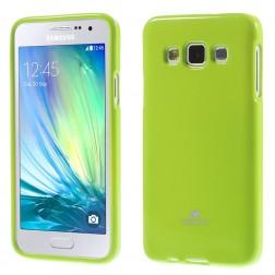 """""""Mercury"""" dėklas - žalias (Galaxy A3 2015)"""