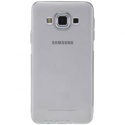 Ploniausias TPU skaidrus dėklas - pilkas (Galaxy A3 2015)