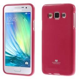 """""""Mercury"""" dėklas - tamsiai rožinis (Galaxy A3)"""