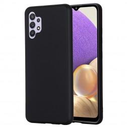 """""""Shell"""" kieto silikono (TPU) dėklas - juodas (Galaxy A32 4G)"""