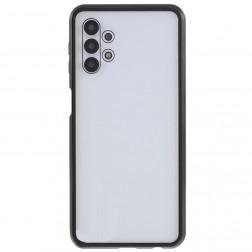 """""""Frame"""" magnetinis pilnai dengiantis dėklas - skaidrus (Galaxy A32 5G)"""