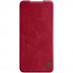 """""""Nillkin"""" Qin atverčiamas dėklas - raudonas (Galaxy A32 5G)"""