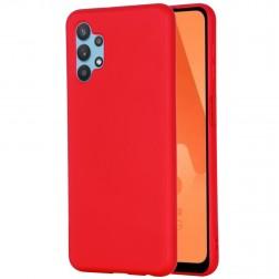 """""""Shell"""" kieto silikono (TPU) dėklas - raudonas (Galaxy A32 5G)"""