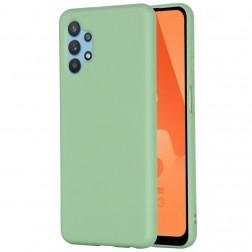 """Shell"" kieto silikono (TPU) dėklas - žalias (Galaxy A32 5G)"