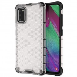 """""""Honeycomb"""" sustiprintos apsaugos dėklas - skaidrus (Galaxy A41)"""