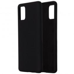 """""""Shell"""" kieto silikono (TPU) dėklas - juodas (Galaxy A41)"""