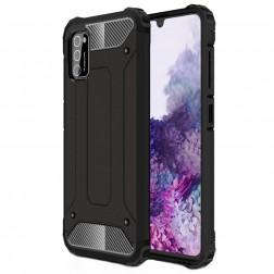 Sustiprintos apsaugos dėklas - juodas (Galaxy A41)