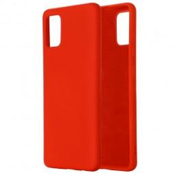 """""""Shell"""" kieto silikono (TPU) dėklas - raudonas (Galaxy A41)"""