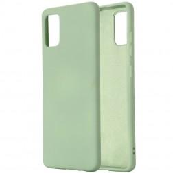 """""""Shell"""" kieto silikono (TPU) dėklas - žalias (Galaxy A41)"""