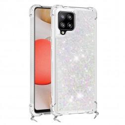"""""""Shine"""" kieto silikono (TPU) dėklas - skaidrus (Galaxy A42 5G)"""