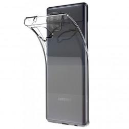Kieto silikono (TPU) dėklas - skaidrus (Galaxy A42 5G)