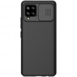 """Nillkin"" CamShield dėklas - juodas (Galaxy A42 5G)"