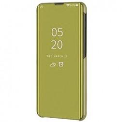 Plastikinis atverčiamas dėklas - auksinis (Galaxy A42 5G)