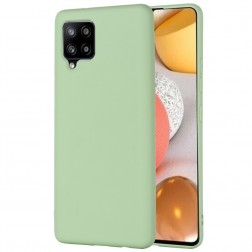 """Shell"" kieto silikono (TPU) dėklas - žalias (Galaxy A42 5G)"