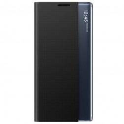 """""""View Line"""" atverčiamas dėklas - juodas (Galaxy A42 5G)"""
