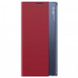 """""""View Line"""" atverčiamas dėklas - raudonas (Galaxy A42 5G)"""