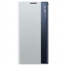 """""""View Line"""" atverčiamas dėklas - sidabrinis (Galaxy A42 5G)"""