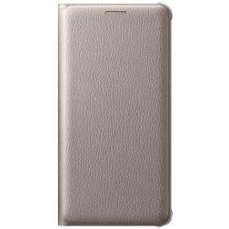 """""""Samsung"""" Flip Wallet Cover atverčiamas dėklas - auksinis (Galaxy A5 2016)"""