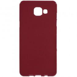 Kieto silikono (TPU) dėklas - raudonas (Galaxy A5 2016)