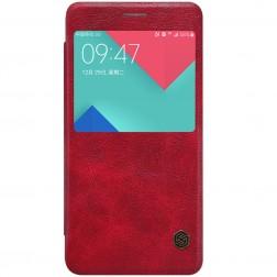 """""""Nillkin"""" Qin atverčiamas dėklas - raudonas (Galaxy A5 2016)"""