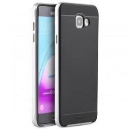 """""""IPAKY"""" kieto silikono (TPU) dėklas - juodas / sidabrinis (Galaxy A5 2016)"""