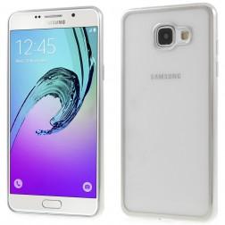 Skaidrus silikoninis (TPU) dėklas - sidabrinis (Galaxy A5 2016)