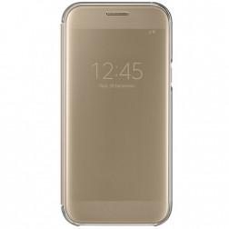 """""""Samsung"""" Clear View Cover atverčiamas dėklas - auksinis (Galaxy A5 2017)"""