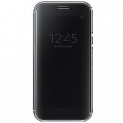 """""""Samsung"""" Clear View Cover atverčiamas dėklas - juodas (Galaxy A5 2017)"""