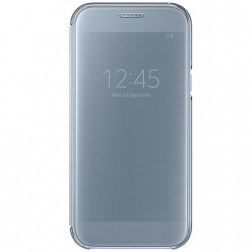 """""""Samsung"""" Clear View Cover atverčiamas dėklas - sidabrinis (Galaxy A5 2017)"""