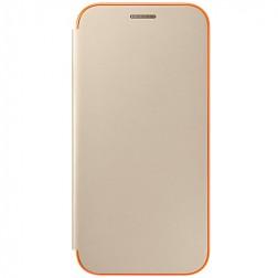 """""""Samsung"""" Neon Flip Cover atverčiamas dėklas - auksinis (Galaxy A5 2017)"""