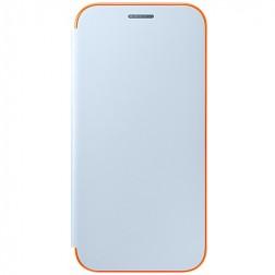 """""""Samsung"""" Neon Flip Cover atverčiamas dėklas - šviesiai mėlynas (Galaxy A5 2017)"""
