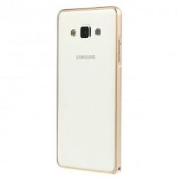 Stilingas rėmelis (bamperis) - auksinis (Galaxy A5 2015)